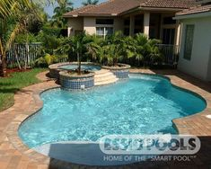 Having a pool sounds awesome especially if you are working with the best backyard pool landscaping ideas there is. How you design a proper backyard with a pool matters. Pools For Small Yards, Small Swimming Pools, Small Backyard Pools, Backyard Pool Landscaping, Backyard Pool Designs, Swimming Pools Backyard, Swimming Pool Designs, Outdoor Pool, Backyard Ideas