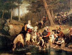 Adolph Tidemand (1814 – 1876, Norwegian)