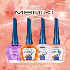 Colección Manikí #SoyMasglo #Masglo #MasgloLOVERS #ColeccionManikí #NailPolish