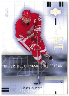 Steve Yzerman # 33 - 2001-02 Upper Deck Mask Collection Hockey