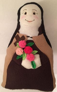 St Therese Handmade Saint Doll