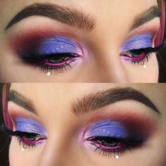 Slayer @alyssamarieartistry giving us major makeup inspo with her #eyescreampalette eye look! 💘💖💜 #DoseofColors #DreaminColor