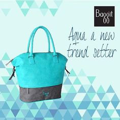 Aqua is a trendy and must-have colour in your wardrobe this season. This beautiful aqua colored #totebag will light up any ensemble and bring a spark to your personality. A colour that will not go out of style, pick this at any exclusive Baggit store or www.baggit.com. #ColorOfTheMonth
