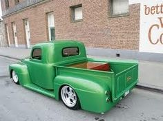 Custom, 1950 Ford F-1 PU