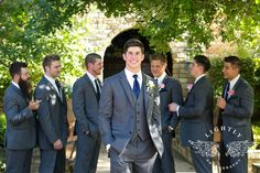 Breanna and Michael – First Look and Romantic Portraits at Clark Gardens Clark Gardens, Groomsmen Suits, Wedding Portraits, Wedding Day, Wedding Photography, Romantic, Fashion, Pi Day Wedding, Moda