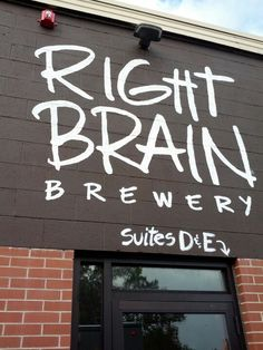 Right Brain Brewery in Traverse City, MI Traverse City Breweries, Communal Table, Great Lakes Region, Right Brain, New Crafts, Vacation Spots, Craft Beer, Brewery, Michigan