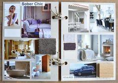Hoe je een persoonlijk moodboard maakt voordat je je huis (opnieuw)gaat inrichten | Woonstijl sober Chic via www.stijlidee.nl
