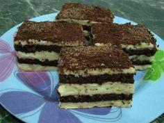 Romanian Food, Romanian Recipes, Tiramisu, Deserts, Ice Cream, Ethnic Recipes, Cakes, Gourmet, Sweets