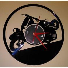 Orologio da parete in vinile con orologio da parete con orologio da parete design vintage decorazione della parete orologio orologio da parete design retr/ò decorazione a parete Elvis Presley