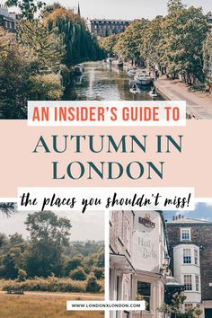 London in autumn is a glorious time. Check out this handy guide - the best things to do in London in autumn plus insider tips. What to see and things to do during London in fall. #london #travel #fall #autumn Walks In London, Autumn Walks, London Film Festival, Hampstead Heath, Richmond Park, Holland Park, Bonfire Night, Things To Do In London, Kew Gardens