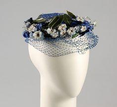 Hat Designer: Sally Victor (American, 1905–1977) Date: ca. 1950 Culture: American