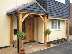 Exceptional sparked simple porch design linked here Porch Canopy, Porch Swing, Simple Porch Designs, Porch Oak, Porch Kits, Porch Ideas, Door Ideas, Building A Porch, House Building
