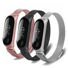 Wrist Band Bracelet Strap for Xiaomi Mi Band 3 MiBand 3 Strap Metal Bracelet Stainless Steel Wrist Strap Metal Bracelets, Technology Gadgets, Stainless Steel Bracelet, Band, Watch, Store, Shopping, Fashion, Smart Watch