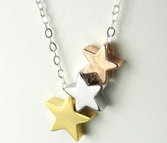 Star Trio Necklace. It's only 3 stars and not 4, but I love it anyway.