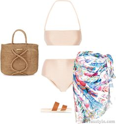How to wear a sarong at the beach | 40plusstyle.com