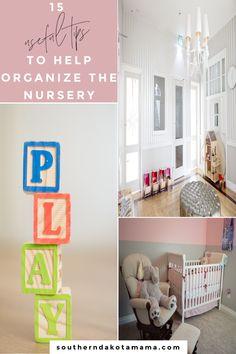 15 Useful Tips To Help Organize The Nursery