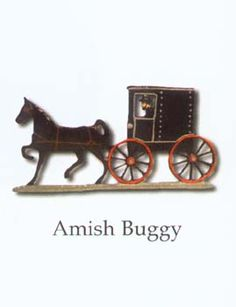 Weathervane Amish Buggy~ Sarah's Country Kitchen ~