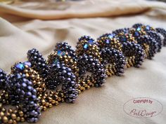 A Second Chance A long time ago I have beaded this bracelet. It's one of my favorites! However it's difficult to take a photo, because th...