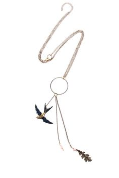 PARISIAN SISTERS  Sautoir oiseau    Chaines