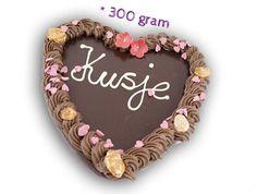Chocolade hart met eigen tekst