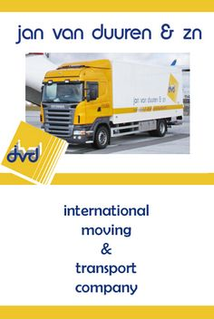 JAN VAN DUUREN & SONS moving company, located in South Holland, Netherlands offers expats local, national and international removal services.