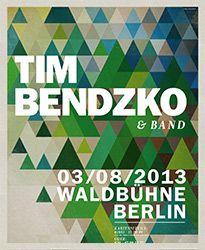 Tim Bendzko & Band - Tickets unter: www.semmel.de