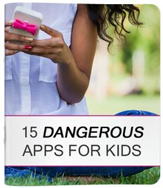 Be aware of the apps your kids and grandkids use!
