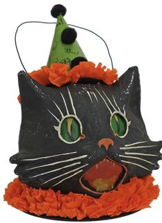 #HalloweenCat #VintageHalloween