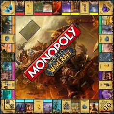 Anyone own this, how would you say it compares to the regular played Monopoly? and How well do they incorporate World of Warcraft?