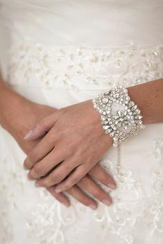 Wedding Pearl Bracelet Bridal Jewelry Bridal door PowderBlueBijoux