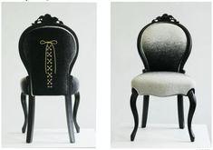 Antes y después de tapizar una butaca | Hacer bricolaje es facilisimo.com