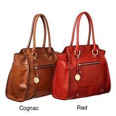 brown handbag