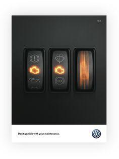 Volkswagen • Gamble on Behance
