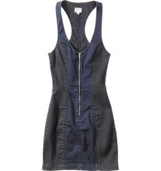 The RVCA Bone Palace is a denim color block body con dress with contrast panels of faded black and dark denim.  The dress has a V-shape front neckline w...