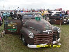 Chevy Rat Rod Daytona Turkey Run Thanksgiving 2013