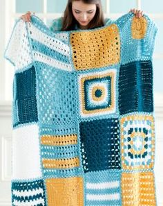 Back-to-Square-One Blanket | crochet today