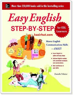 Easy English Step By Step For ESL Learners Written By Danielle Pelletier PDF | Epub​
