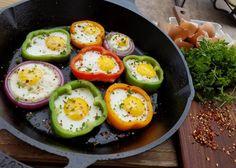 eggs in rings recipe http://cleanfoodcrush.com/egg-rings/