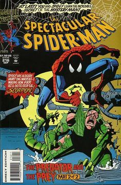 Peter Parker, The Spectacular Spider-Man # 216 by Sal Buscema 9/5/2016 ®... #{T.R.L.}