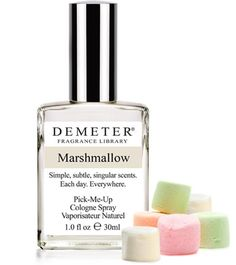 Now you can wear the light sweet smell of marshmallows without any of the stickiness! #marshmallow #fragrance
