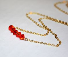 Roll Necklace Jewelry Tutorial