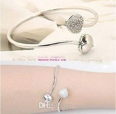 Wholesale Cute Double Peach Heart Bracelet Gold Plated Crystal Alloy Bracelet Fashion Jewelry For Lady Diamond Bangle Bracelet Bangle Watches From Guohejewelry, $0.42| Dhgate.Com