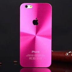 iPhone 6 Brushed Aluminum Case, also for iPhone 6 Plus