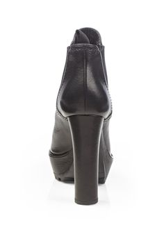 ideeli | PRADA Leather Short Boot