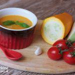 Kalerábovo-cuketová polievka