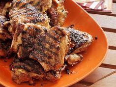 Foodnetwork: Garlic-Ginger Chicken Thighs Recipe food-3
