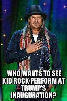 Who doesn't want to see the bat-shit crazy fucktard at all? Most of America ! Trump Is My President, President Election, Greatest Presidents, Trump Train, Kid Rock, Conservative Politics, Truth Hurts, God Bless America, Before Us