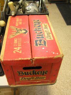 Buckey Brewing Company, Toledo, Ohio  Buckey Beer Case