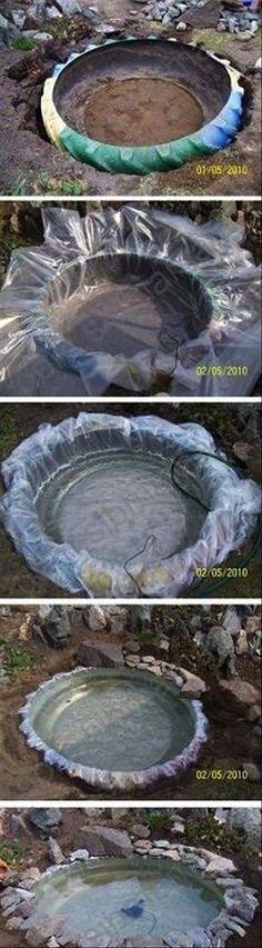 DIY-Tire-Pond.jpg 600×2,172 pixels