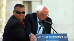 """""""We don't get intimidated easily."""" © Bernie Sanders Speeches & Events"""